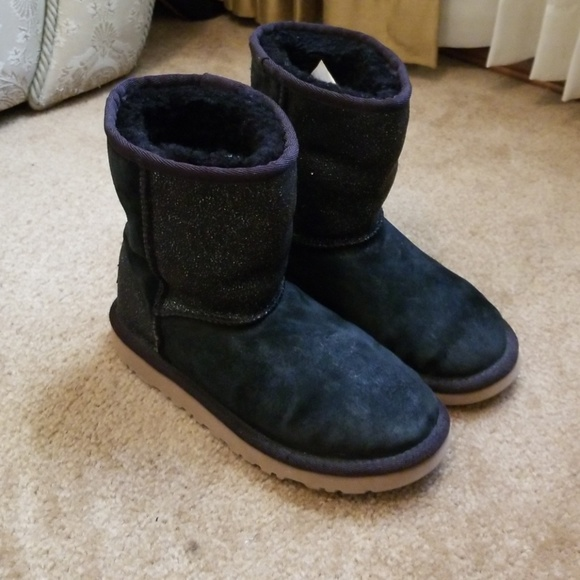 Ugg Shoes Sparkly Short Boots Poshmark